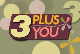 3 plus you logo
