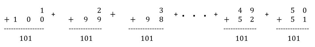 GaussArithmeticSeriespic1