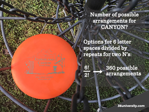 act-prep-math-factorials-disc-golf-disc-orange